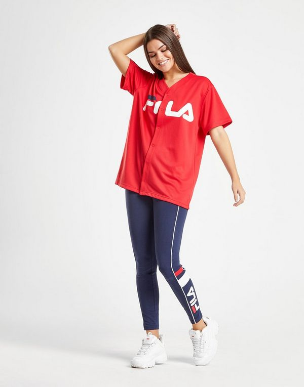 2b14bb858e9 Fila Mesh Baseball T-Shirt | JD Sports