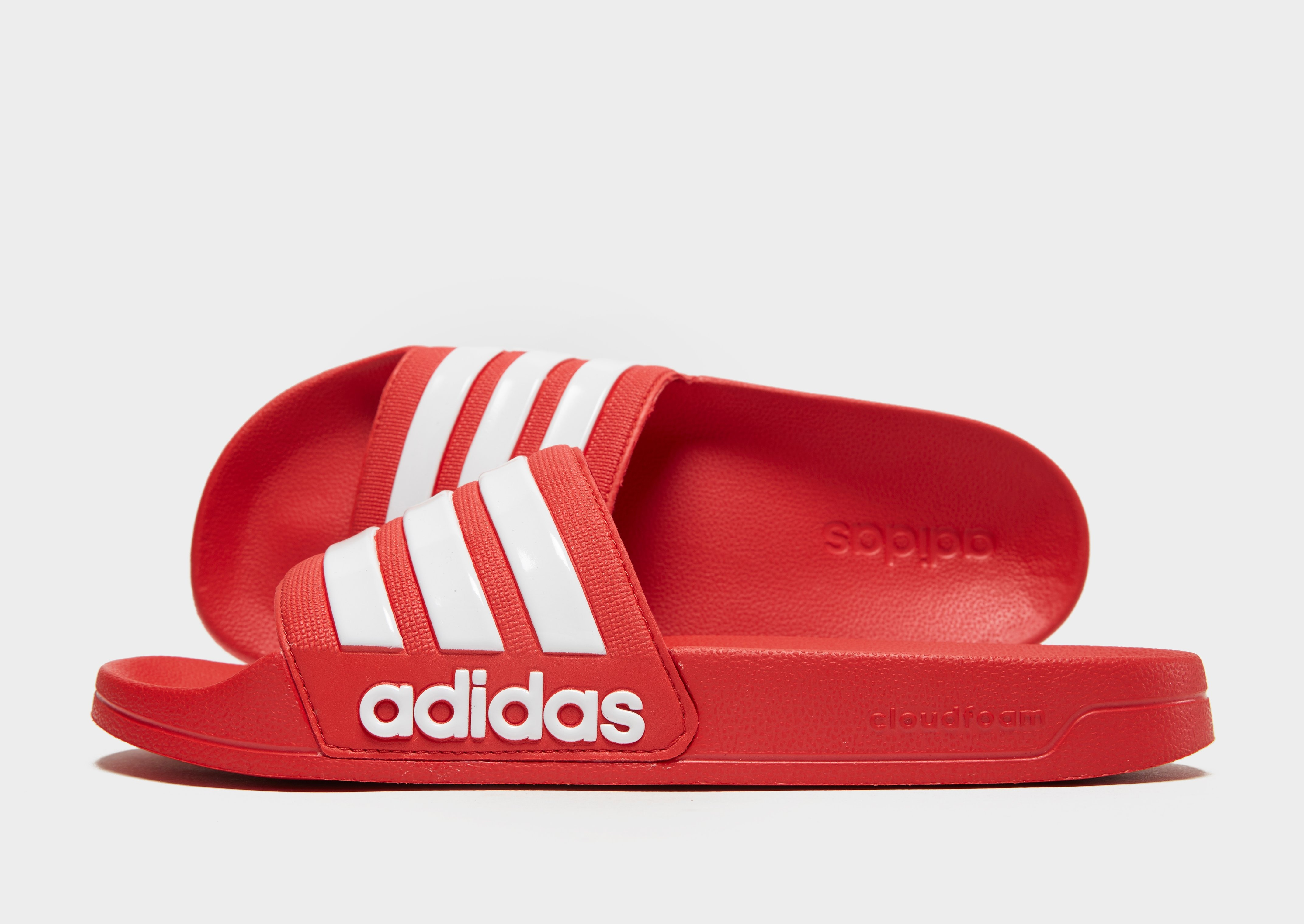 yo Acechar Puerto  Buy Red adidas Adilette Shower Red/wht