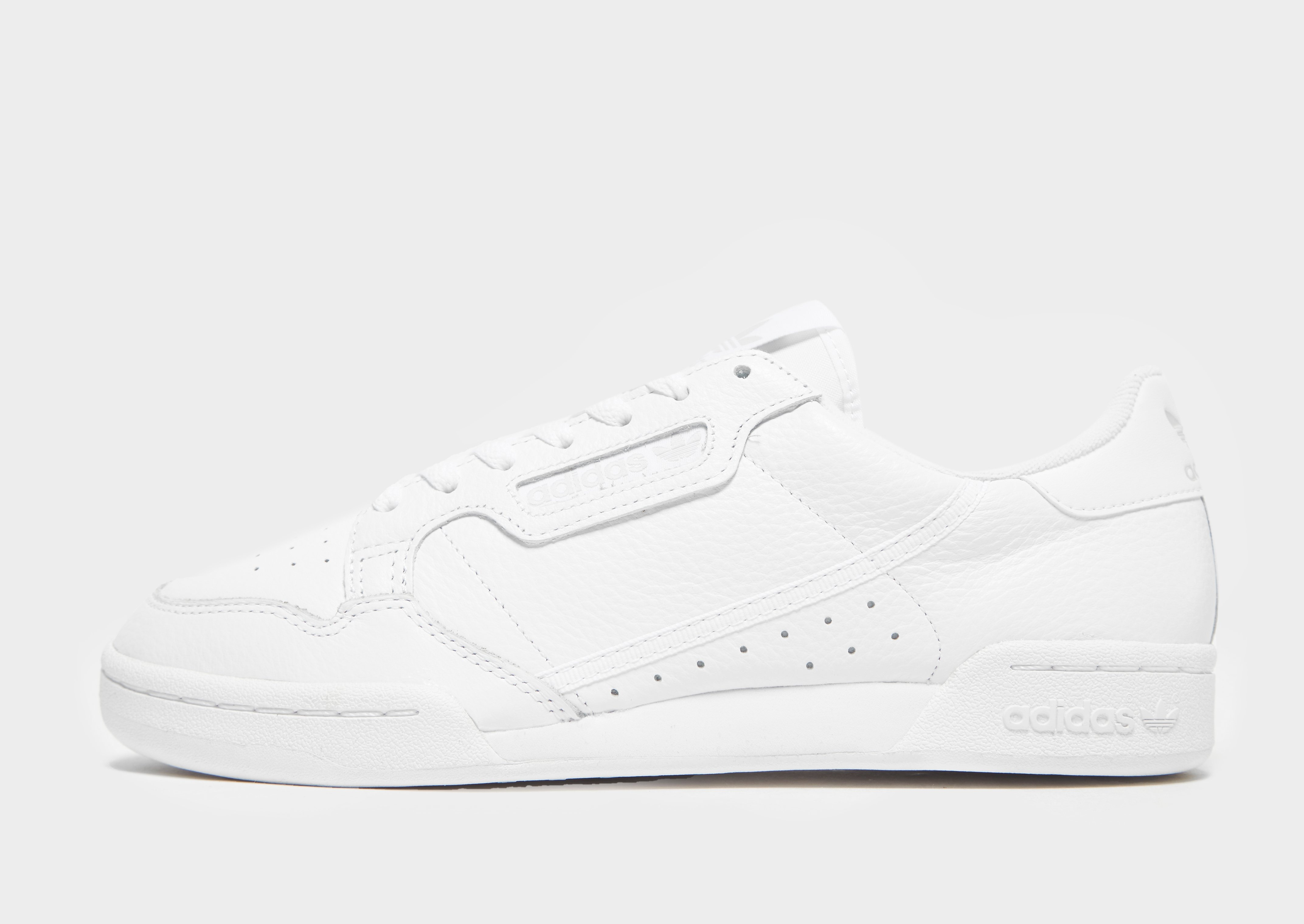 Koop Wit adidas Originals Continental 80 Heren   JD Sports