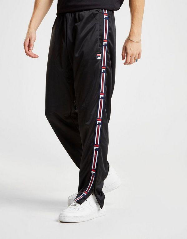 bae786bc1bca5 Fila Ush Woven Tape Track Pants | JD Sports