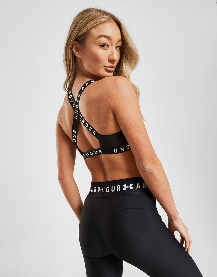 Under Armour sujetador deportivo Logo Cross-Back