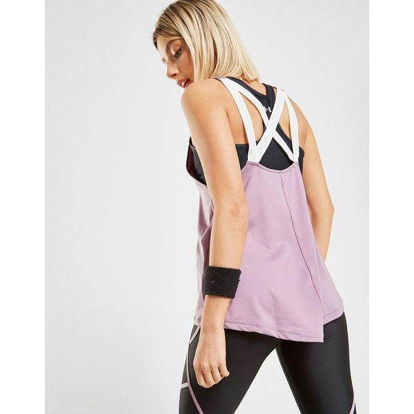 Under Armour Tape Cross Back Tank Top