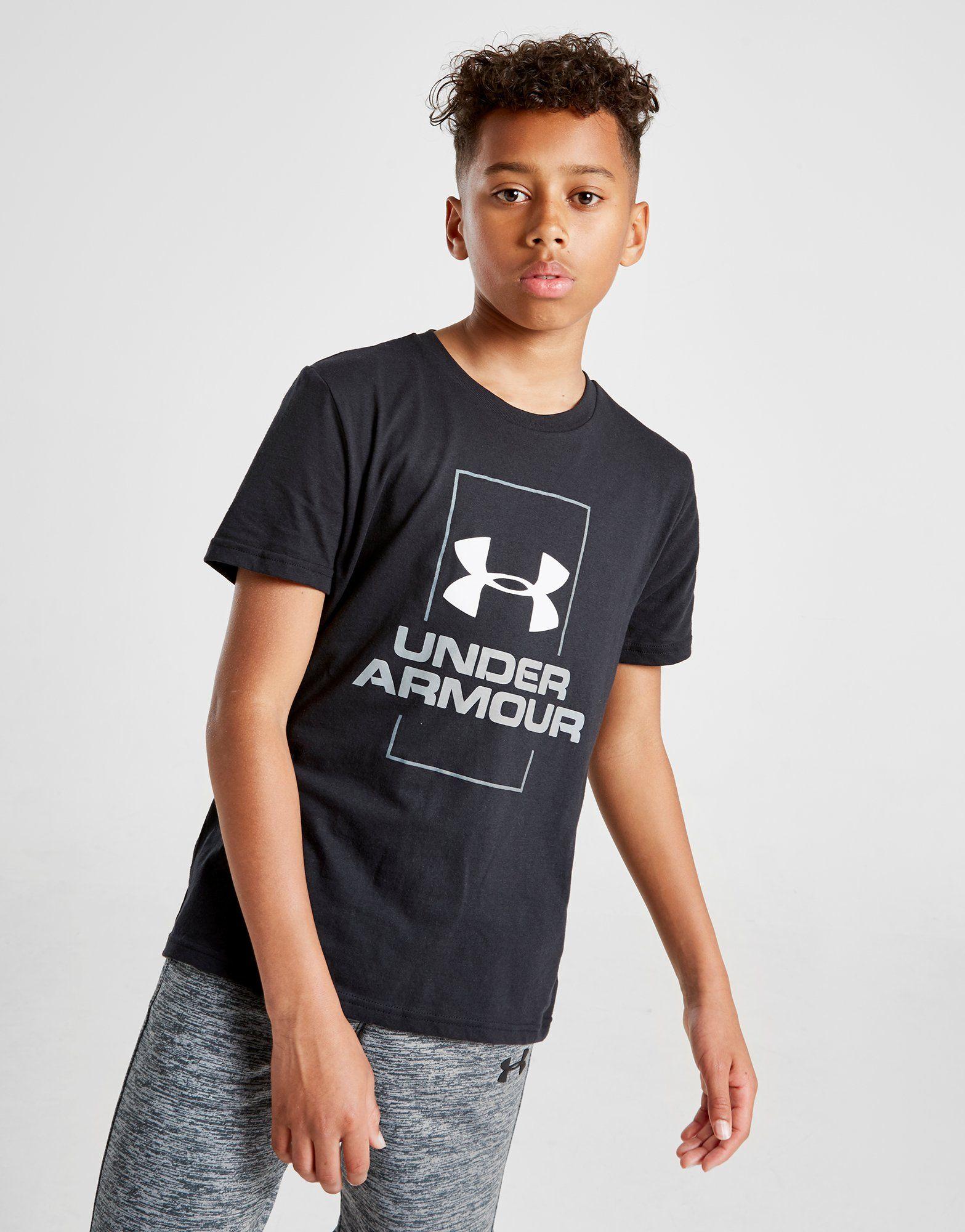 9881e7fbe Under Armour Vertical Logo T-Shirt Junior | JD Sports