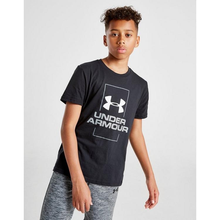 Under Armour camiseta Vertical Logo júnior