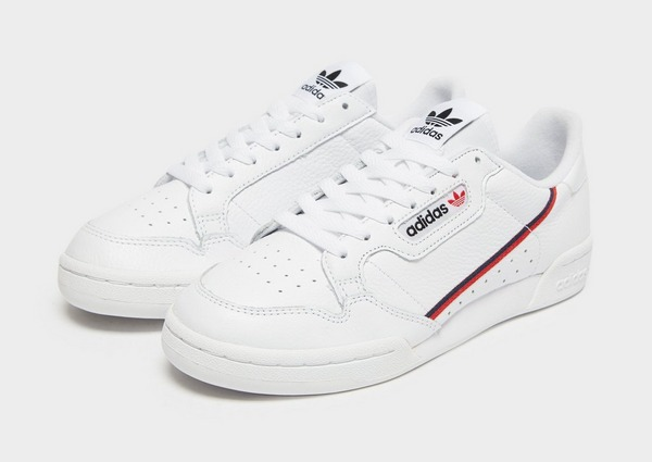 Buy White adidas Originals Continental 80 | JD Sports