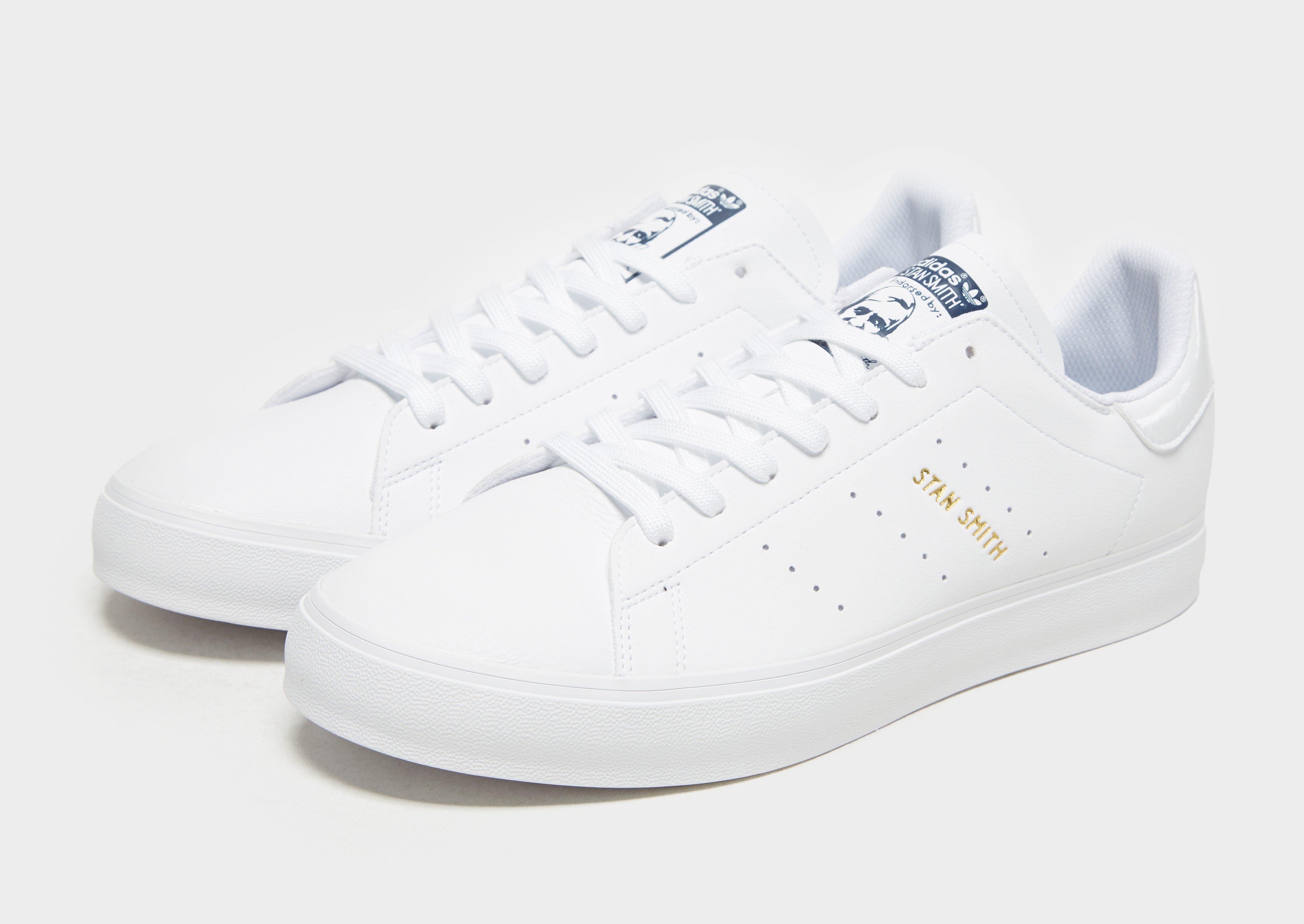stan smith vulc shoes white