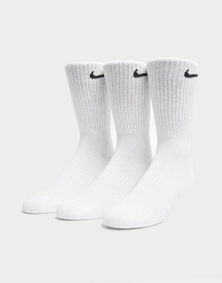 Nike 3 Pack Everyday Cushioned Crew Socks