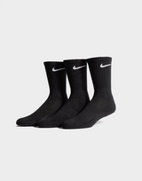 Nike Pack 3 pares de meias Cushioned Crew