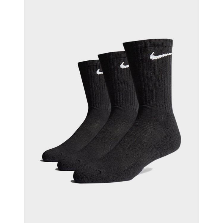 Nike Pack de 3 paires de Chaussettes Rembourrées Homme