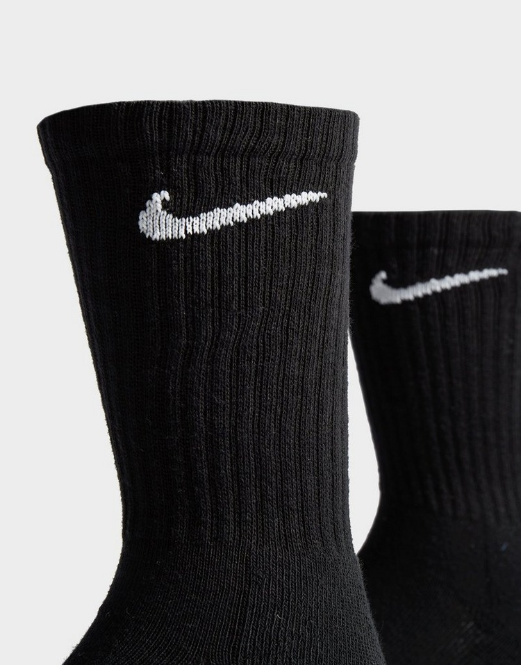 Nike 3-Pack Cushioned Crew Strumpor