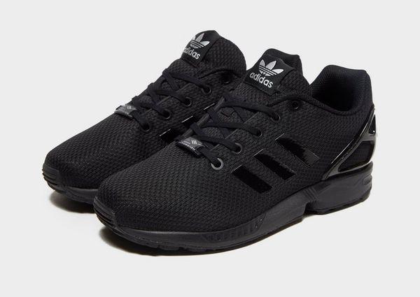 adidas zx flux schwarz junior jd