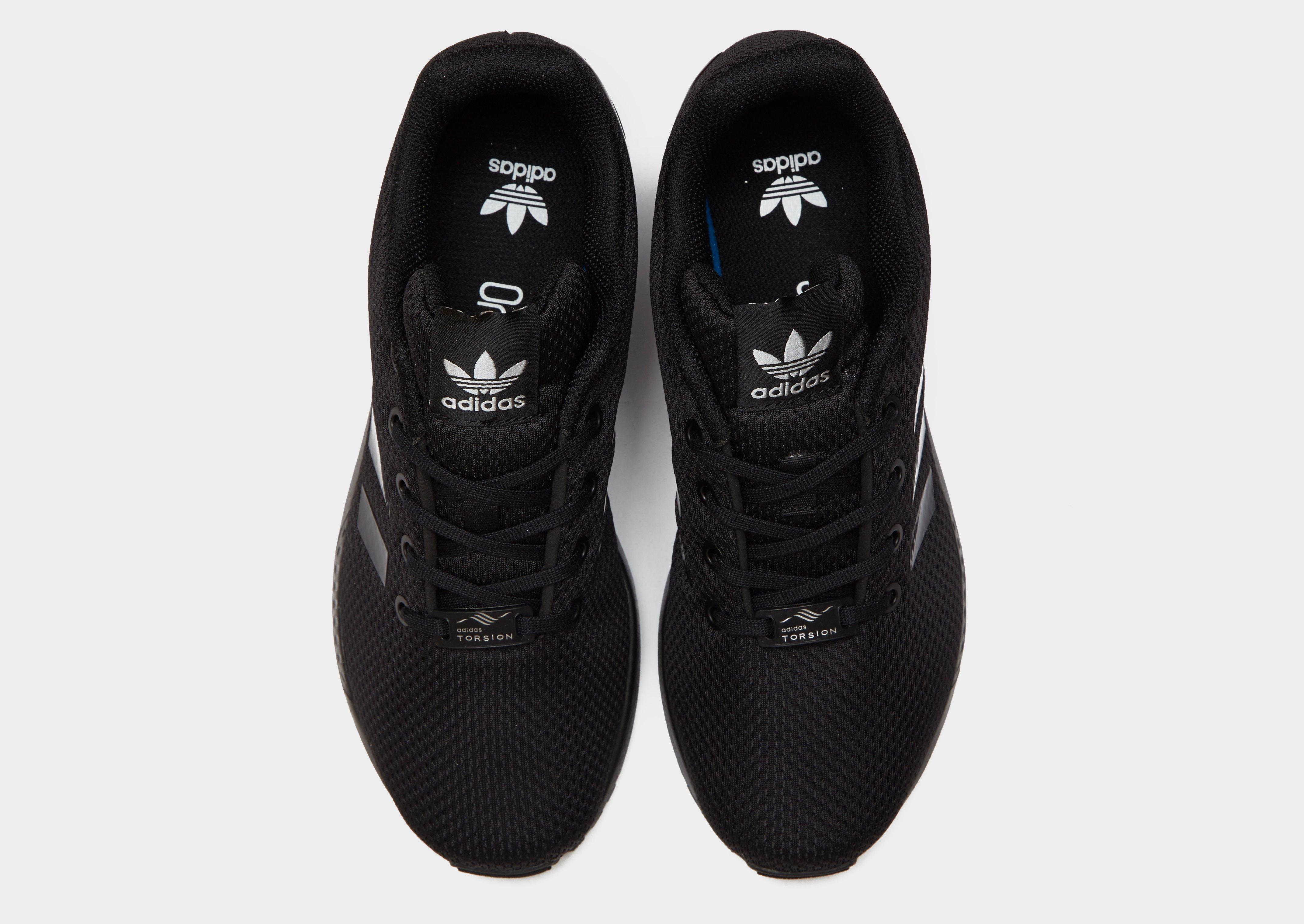 adidas originals zx flux junior black