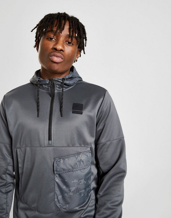 Koop Zwart Nike Air Max 12 Zip Hoodie Heren | JD Sports