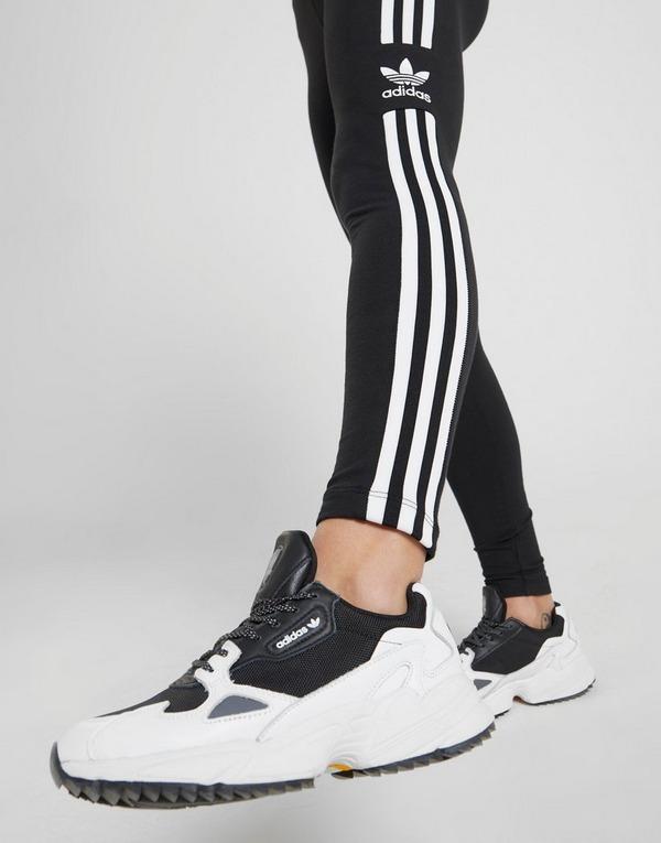 Koop Black adidas Originals 3 Stripes Trefoil Leggings Dames