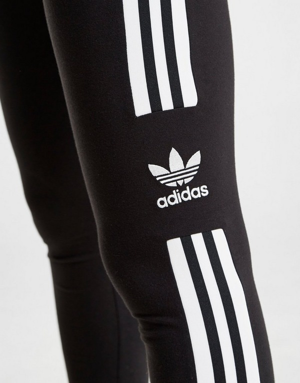 Koop Black adidas Originals 3 Stripes Trefoil Leggings Dames