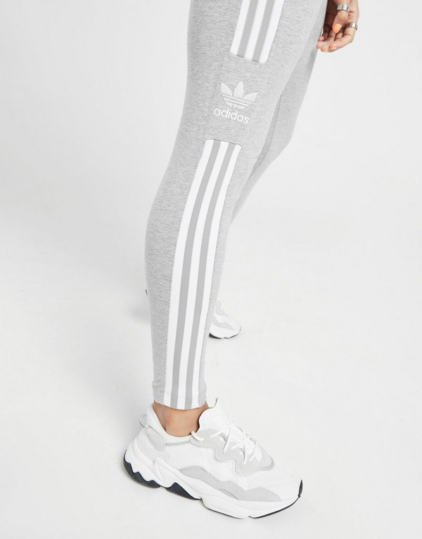 Koop Grijs adidas Originals 3 Stripes Trefoil Leggings Dames