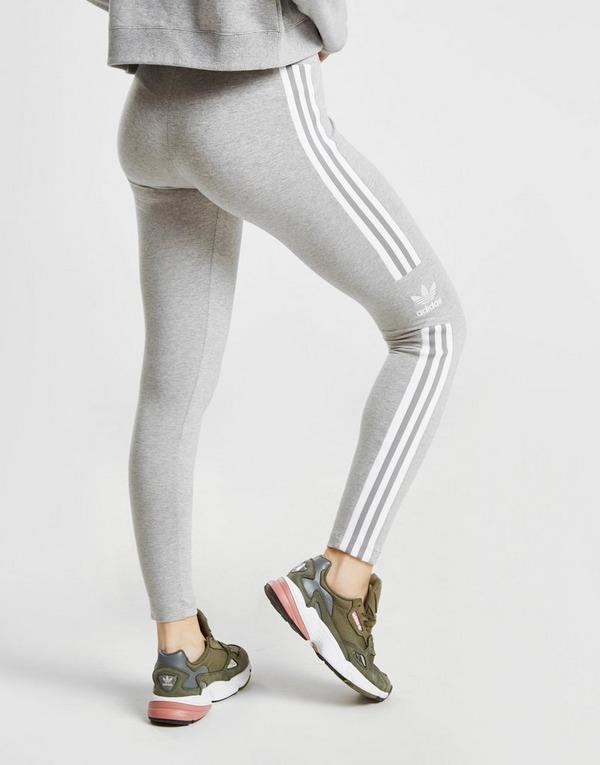 adidas Originals Damen Leggins Dunkelgrau