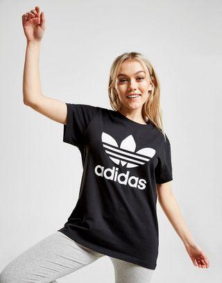 27d7553bb8 adidas Originals Trefoil Boyfriend T-Shirt Donna | JD Sports