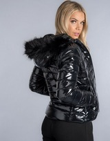 Gym King Shine Fur Padded Jacket