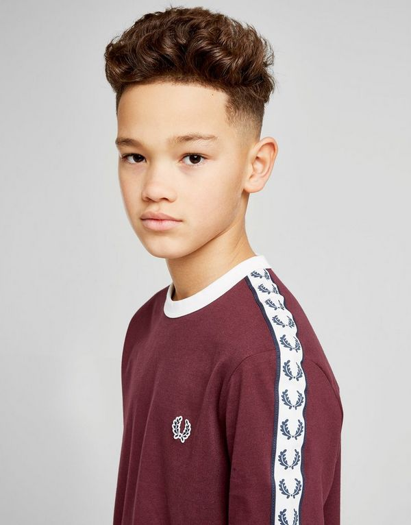 Fred Perry Tape T-Shirt Junior