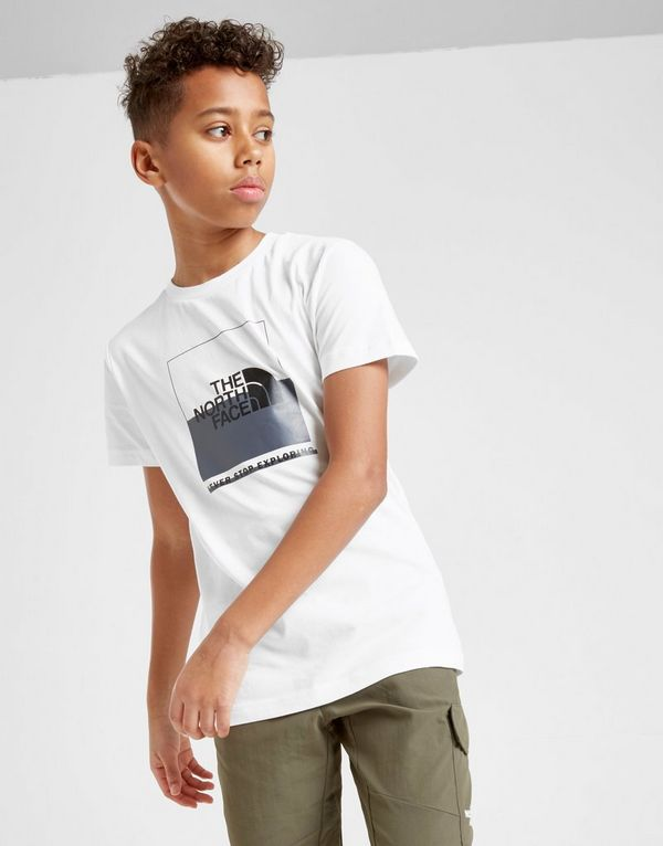 81ca98f2b The North Face Box Logo T-Shirt Junior | JD Sports