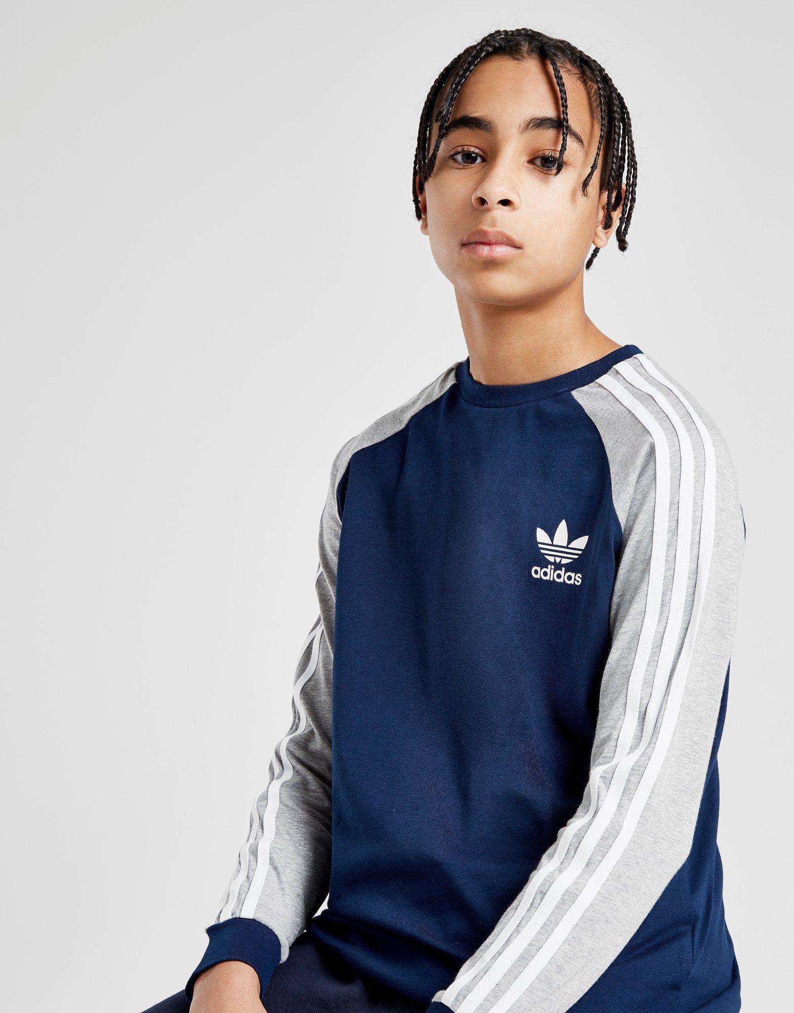 T Originals Sleeve California Shirt JuniorJd Sports Adidas Long oCxedBrW