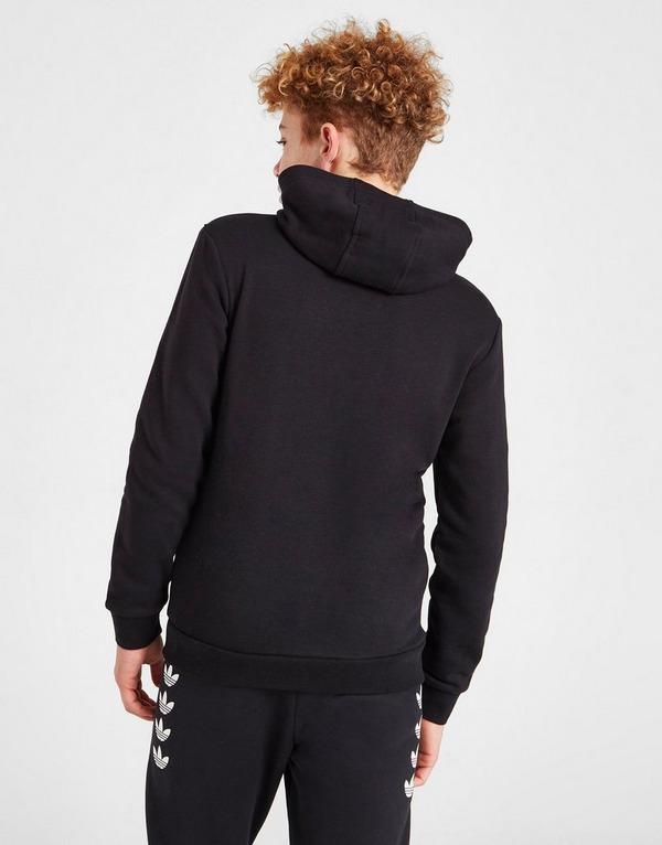 Shop den adidas Originals Trefoil Hoodie Kinder in Schwarz