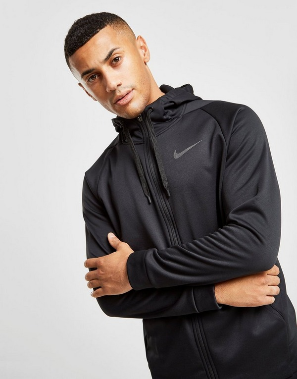 Køb Nike Training Poly Hoodie Herre i Sort | JD Sports