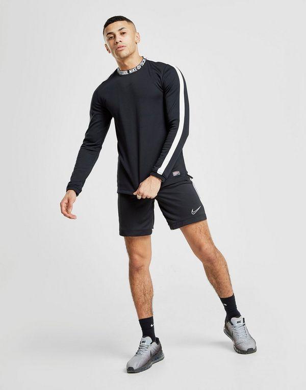1f1e50fdef3 Nike FC Long Sleeve Script Neck T-Shirt | JD Sports