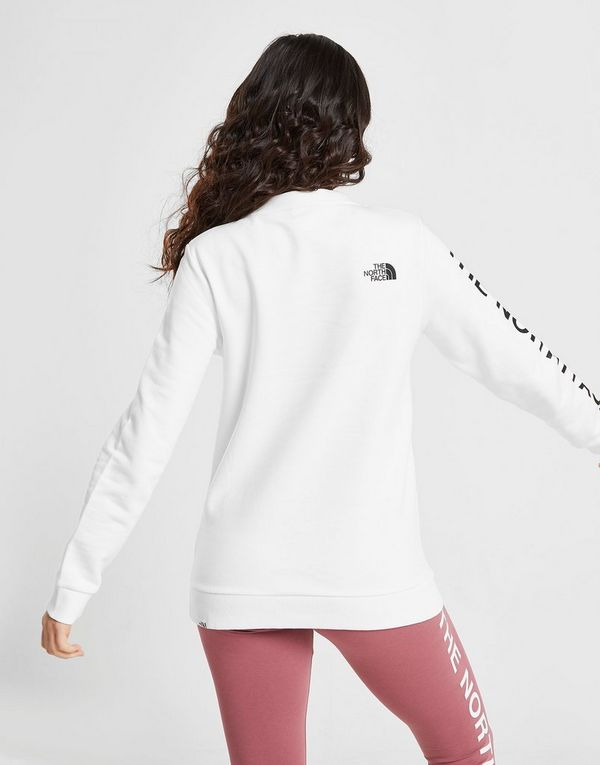 The North Face Logo Sleeve Crew Sweatshirt