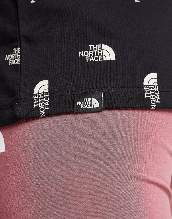 The North Face All Over Print Logo Boyfriend T-Shirt