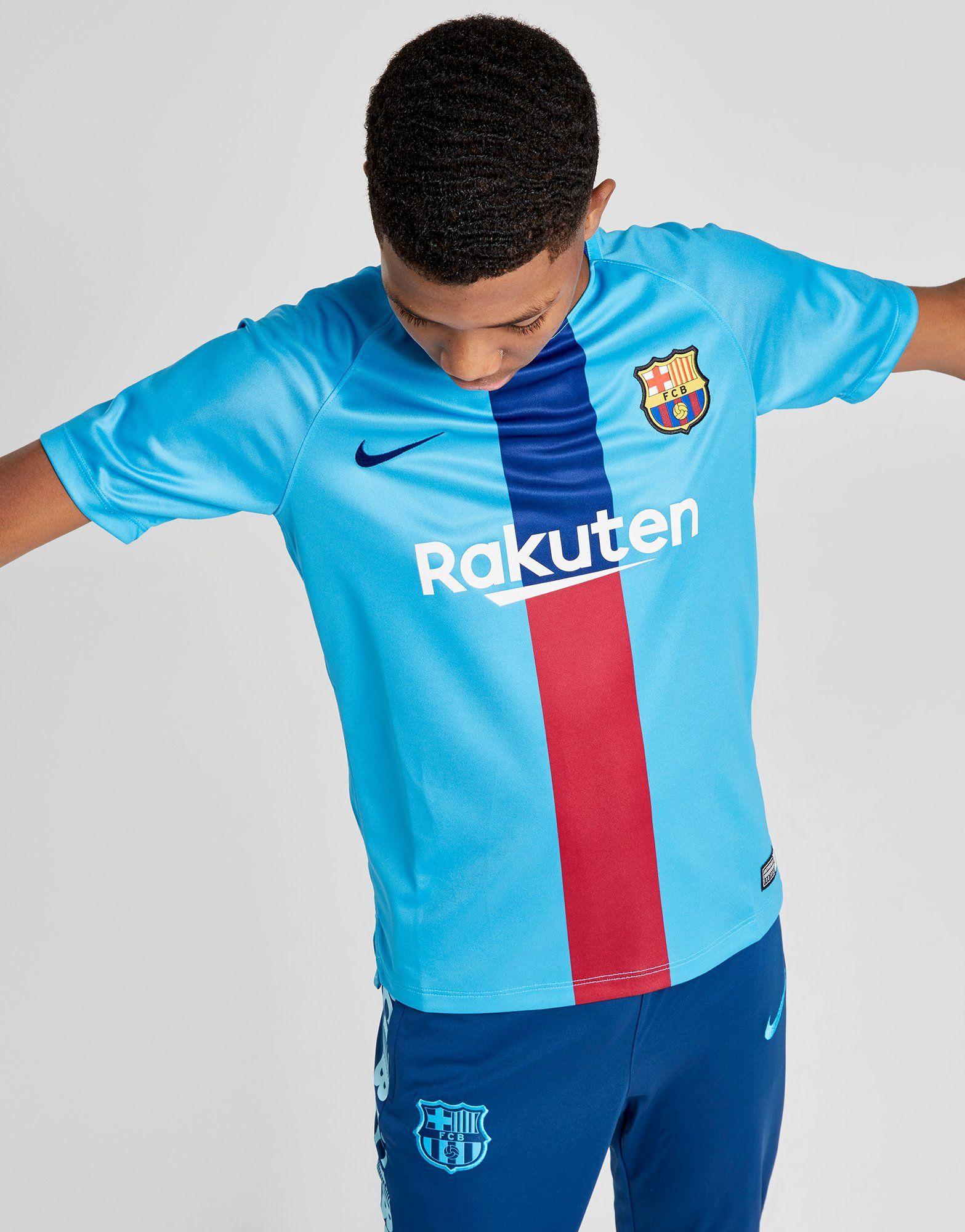 a430b37f3 NIKE FC Barcelona Dri-FIT Squad Older Kids  Short-Sleeve Football Top