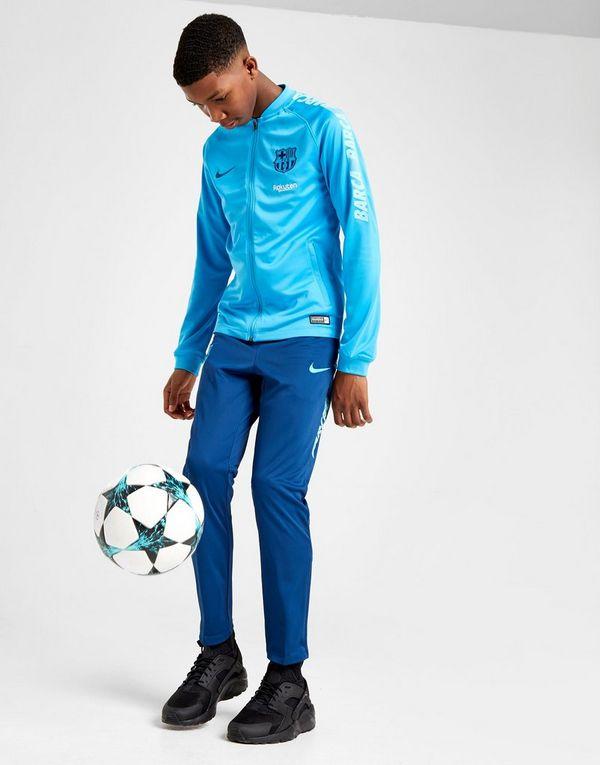 4e6fa1a23 NIKE FC Barcelona Dri-FIT Squad Older Kids  Football Track Suit