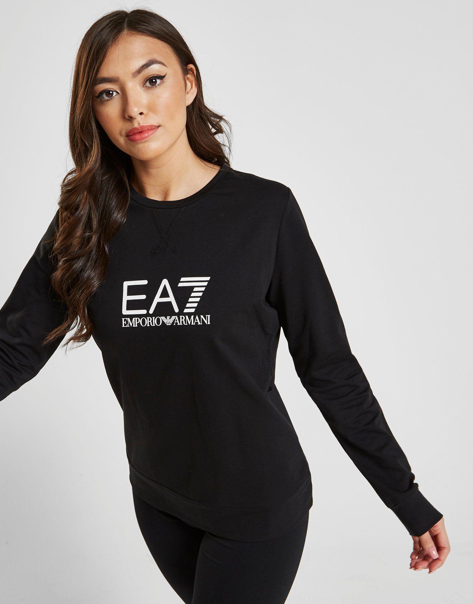 60315941 Emporio Armani EA7 Core Crew Sweatshirt | JD Sports