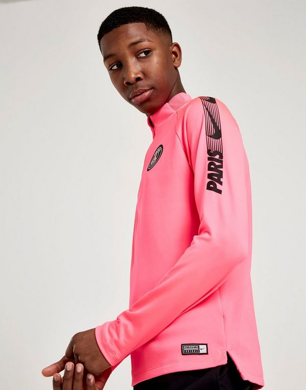 bbe3d47a2fa0ef NIKE Nike Dri-FIT Paris Saint-Germain Squad Older Kids  Drill Top ...