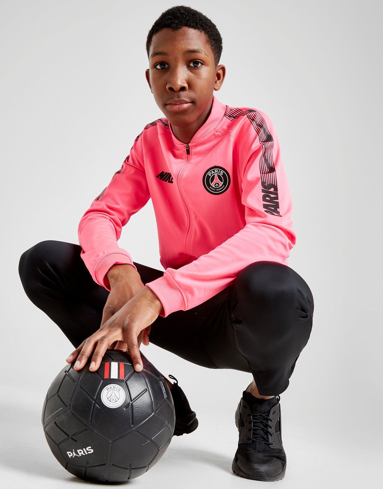 560803cd98906b NIKE Paris Saint-Germain Dri-FIT Squad Older Kids  Football Track Suit