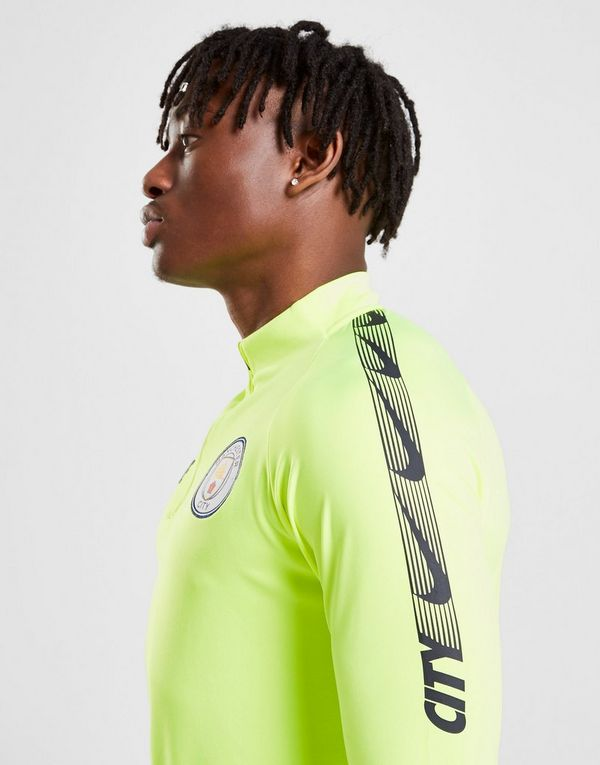 33906605 NIKE Manchester City FC Dri-FIT Squad Drill Men's Long-Sleeve Football Top