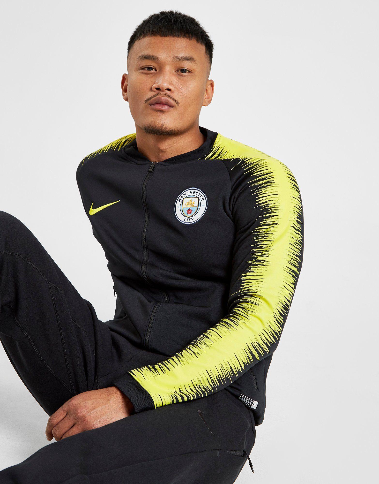 NIKE Manchester City FC Anthem Men's Football Jacket