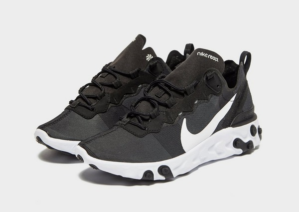 Padre fage Alfombra Transeúnte  Black Nike React Element 55 Women's | JD Sports