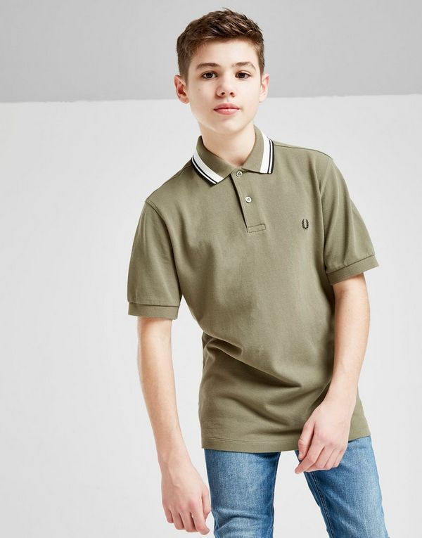 be6d64ac Fred Perry Twin Tipped Polo Shirt Junior | JD Sports