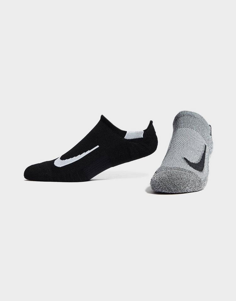 Nike 2 Pack Running No Show Socks