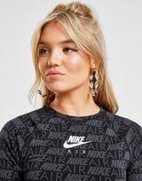Nike T-Shirt Crop Air Imprimé Femme