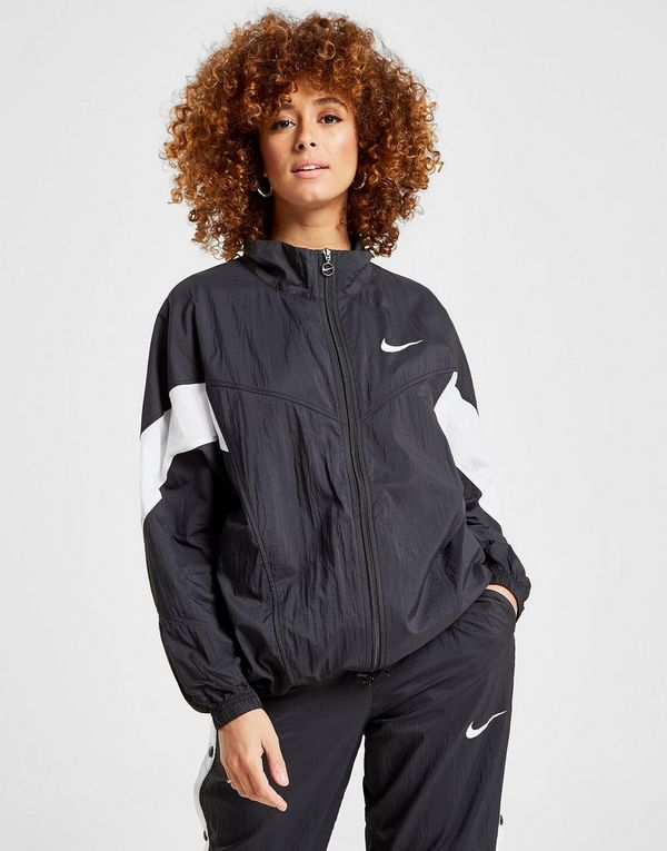 a5a45b690 Nike Nylon Colour Block Full Zip Jacket   JD Sports