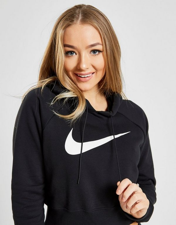 first rate 5c172 37cf3 Nike Sportswear Swoosh Cropped French Terry Hoodie