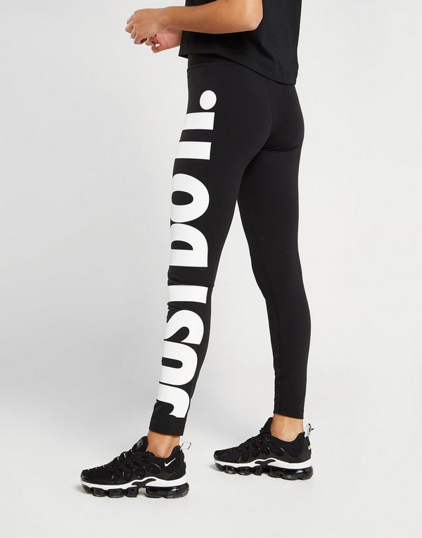 sale retailer 9c7d6 37273 Nike Just Do It Leggings