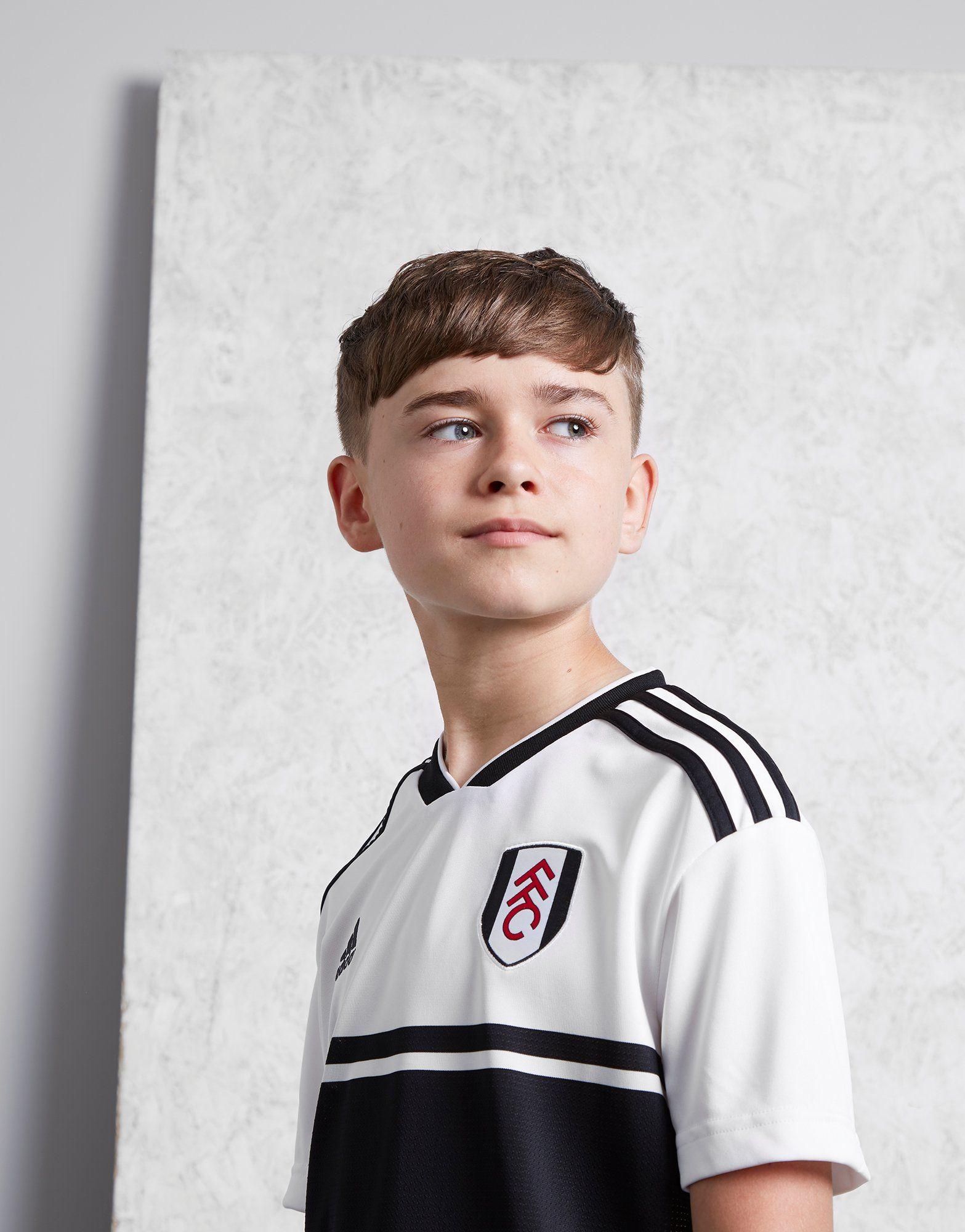 adidas Fulham FC 2018/19 Home Shirt Junior