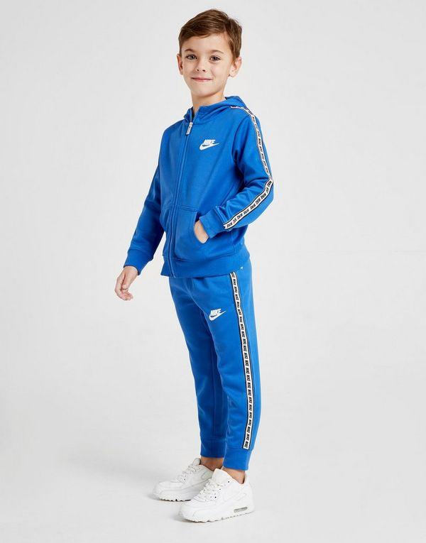 9aa0eb2a44 Nike Tape Poly Full Zip Tuta Bambino | JD Sports