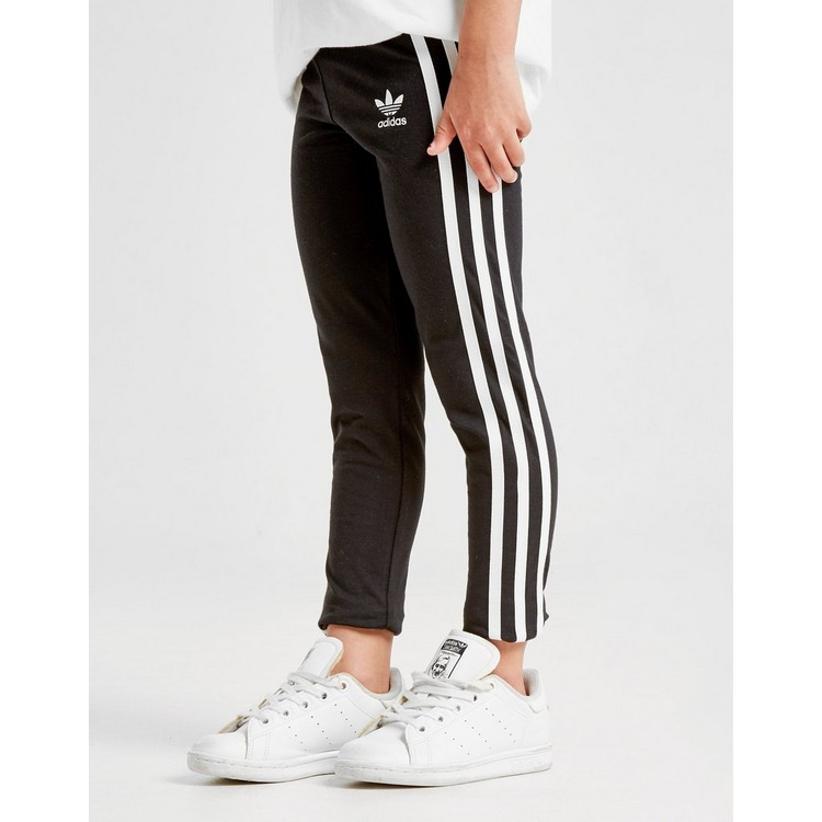 adidas Originals Girls' 3-Stripes Legginsit Lapset