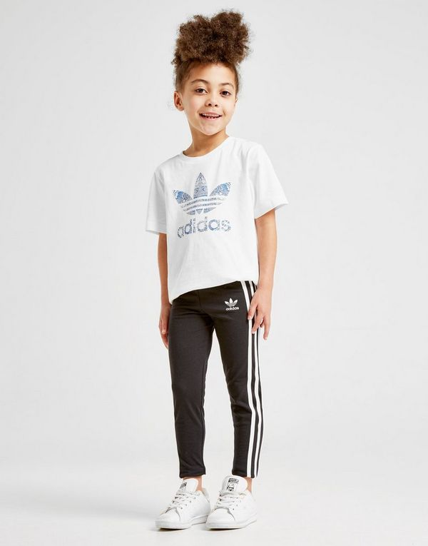 cda7a1cbb adidas Originals Girls' 3-Stripes Leggings Children | JD Sports