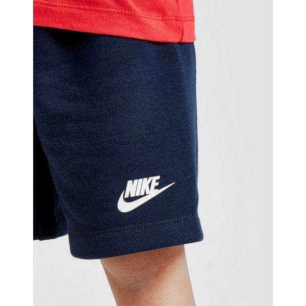 Nike Futura Colour Block T-Shirt/Shorts Set Children